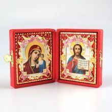 Christ and Mother of Kazan Diptych