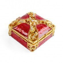 Ornate Gift Package Keepsake Trinket Box