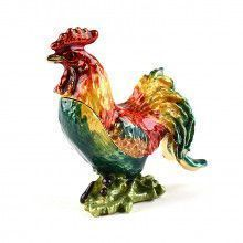Proud Rooster Trinket Box