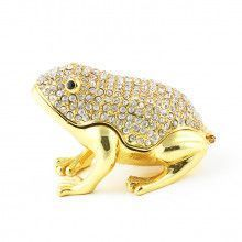 Golden Bejewelled Tree Frog Box
