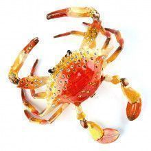 Articulated Red Crab Trinket Box