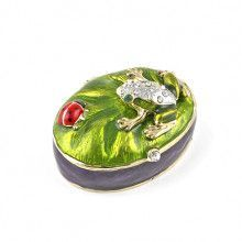 Frog and Ladybug Trinket Box