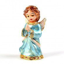 Praying Baby Angel Trinket Box