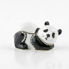 Panda Bear Trinket Box