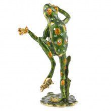 Happy Frog Trinket Box