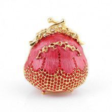 Sparkly Pink Purse Trinket Box