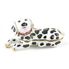 Dalmatian Dog Trinket Box
