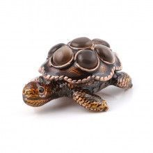 Small Brown Turtle Gift Box