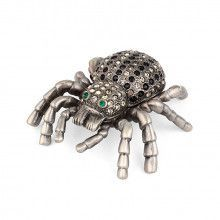 Jeweled Spider Trinket Box
