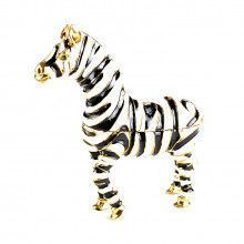Zebra Trinket Box