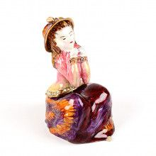 SALE -55% Waiting for Love Figurine Trinket Box