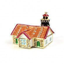 Small Lighthouse Trinket Gift Box