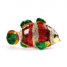 Colorful Tropical Fish Trinket