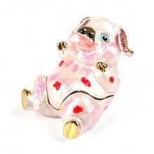 Belly-Up Piggy Funny Keepsake Box