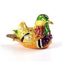 Mandarian Duck Keepsake Box