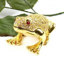 Small Golden Frog Trinket