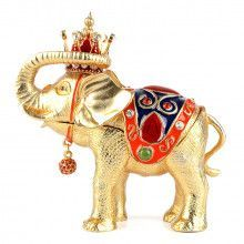 Elephant King Trinket Box