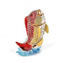 Fish with Pearl Trinket Box