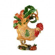 Cockerel Rooster Keepsake Box