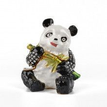 Hungry Panda With Bamboo Box