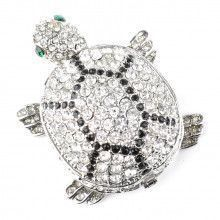 Sparkling Turtle Trinket Box