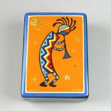 Kokopelli Russian Lacquer Box
