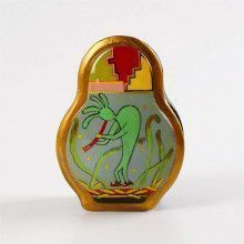 Lacquer Box with Kokopelli