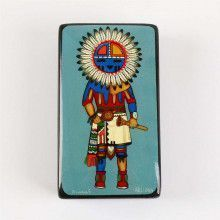 Sun Kachina Lacquer Box