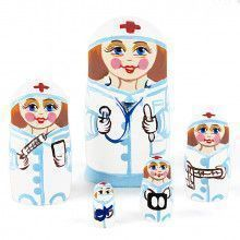 Physician Doctor Nurse Matryoshka