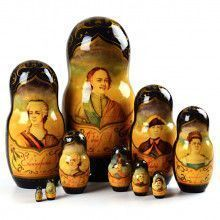 Peter The Great & Czars Nesting Doll