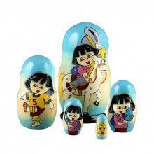 Dora the Explorer Nesting Doll