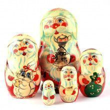 "5"" Tall Santa Matryoshka"