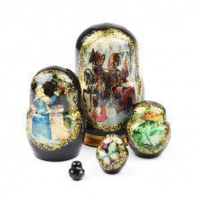 "1 1/4"" Tiny Russian Tales Matryoshka"