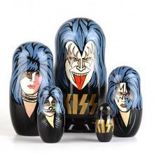KISS Rock and Roll Nesting Dolls