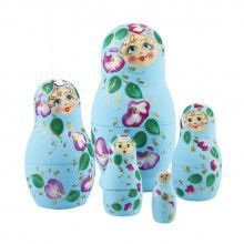 Floral Breeze Cute Matryoshka