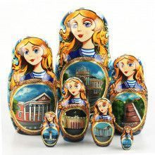 Memory Of Odessa Stacking Doll