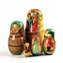 Tsar Saltan 5 Piece Nesting Doll