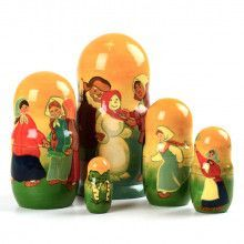 Snow Maiden 5 Piece Babushka