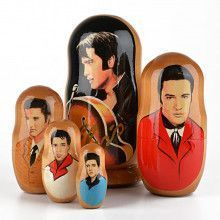Elvis Presley 5pc Nesting Doll
