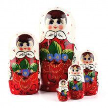 Berries Girl Russian Matryoshka