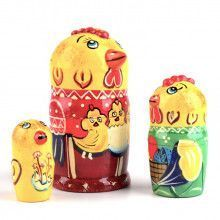 Mother Hen Matryoshka
