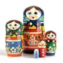 Orange Apron Matryoshka