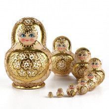 Golden Flowers 10pc