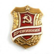 Russian Volunteers Combatant Soviet Pin