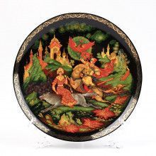 Ivan Tsarevitch & The Wolf Souvenir Plate