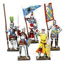 Teutonic Knights from Russia Tin Soldiers Set