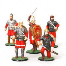 Nevsky with Medieval Russian Tin Soldiers Set