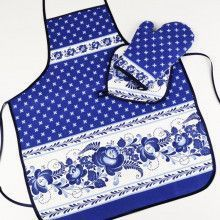 Blue Apron, Hot Pad & Oven Mitt Set