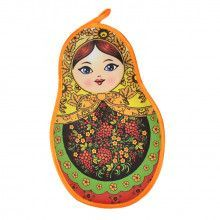 Red Currants Matryoshka Pot Holder