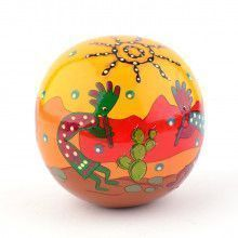 Kokopelli Chime Ball Souvenir